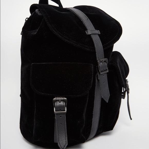 f11ecbd293d Herschel Dawson velvet backpack