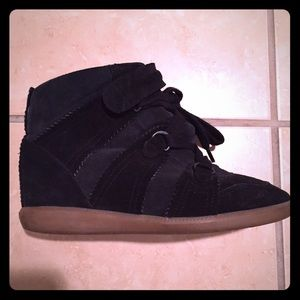 Isabel Marant bluebell sneakers wedges 37