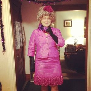 nicolette other hand painted effie trinket suit halloween costume