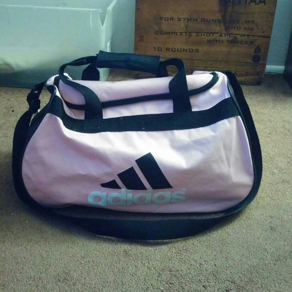 9ee9c92554b Adidas Bags   Pink Black Gym Duffle Bag   Poshmark