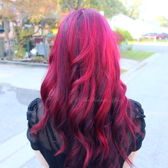 2 magenta 2 red ion color brilliance hair color