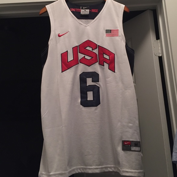 the latest 6fde1 4439f lebron james usa olympic jersey