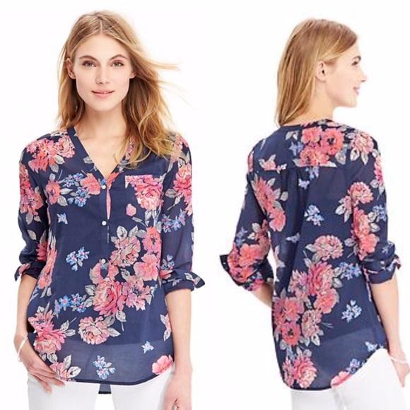 6ef3838ff40 Floral Print Tunic Top. M_56c4253a99086a19fa09c8f5