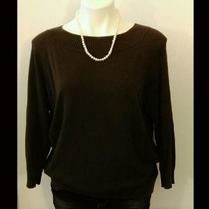 Ann Taylor Sweaters - Ann Taylor 3/4 Sleeve Sweater