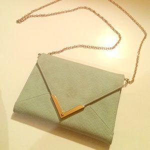 Francesca's Cute clutch or cross-body purse