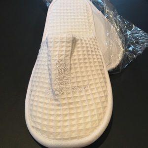 Ritz Carlton Shoes - Ritz Carlton slippers new in plastic