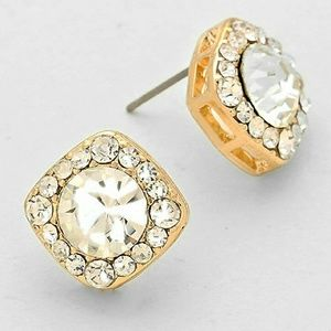 Jewelry - CRYSTAL QUAD STUD EARRINGS