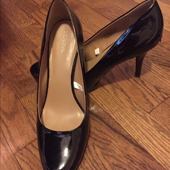 Merona Shoes | Black Patent Leather