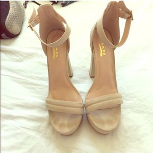 Cream Nude Heels