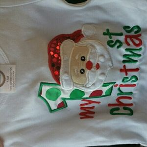 Other - White long sleeve my 1st christmas