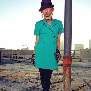 Vintage dress size 4