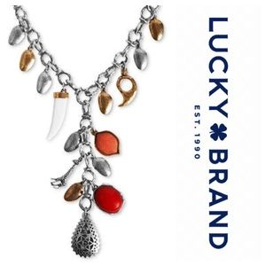 Lucky Brand African Sky Necklace