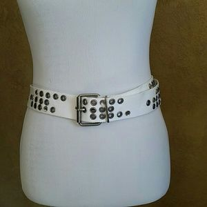 Accessories - Bedazzled cloth belt
