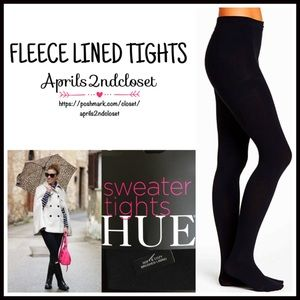 HUE Accessories - ❗1-HOUR SALE❗TIGHTS Black Sweater Tights