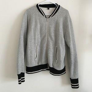 Jcrew varsity jacket size L