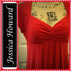 Jessica Howard Dresses & Skirts - Jessica Howard Red Dress