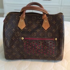 Authentic limited edition speedy Louis Vuitton