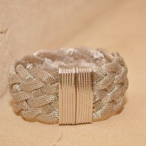 Farah Jewelry Jewelry - Mesh braided bracelet