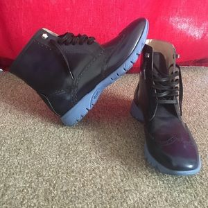 "Vibram Shoes - Vibram casual rain boots. ""Hush puppies"""