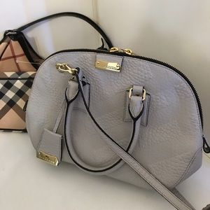 Burberry small orchard satchel bag
