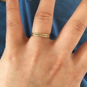 Jewelry - 14k Gold Diamond Engagement/Wedding Band Ring