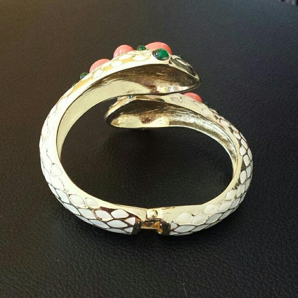 Anthropologie Jewelry - Snake cuff bracelet