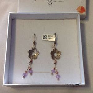 Magnolia Jewelry - Silver drop Earrings