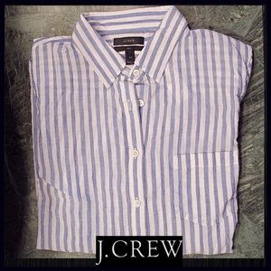J. Crew Tops - J.CREW Guazy Button-up