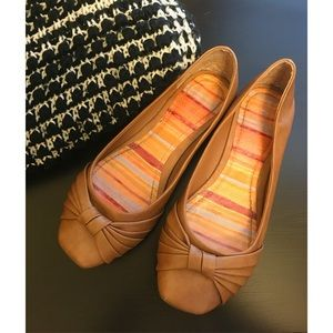 Bamboo Shoes - Brown Flats