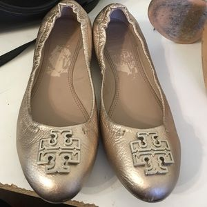 Tory burch Raleigh flats