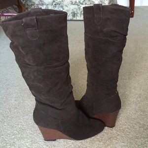 Rampage Wedge Boots