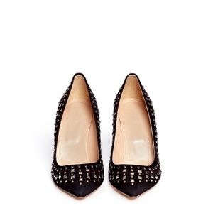 J. Crew Shoes - J.Crew EUC collection Everly studded heel