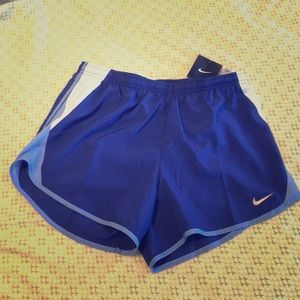 Nike running shorts-blue