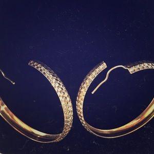 Jewelry - 18k Gold Hoop Earrings