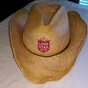 Lone Star Beer Accessories -  Lone Star Beer  straw cowboy hat d4cdb500d43