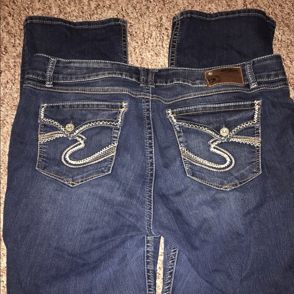 70% off Silver Jeans Denim - Silver Dawson Fit Sz 20 Jeans from