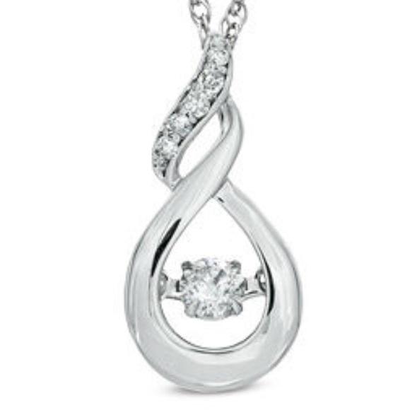 Zales Jewelry Unstoppable Love Diamond Necklace Poshmark