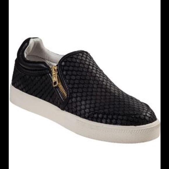 Ash Shoes   Ash Snake Zipper Slipon
