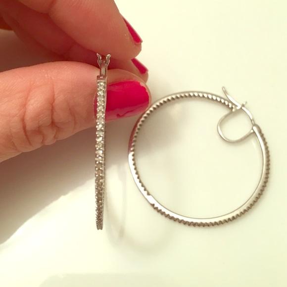 a5a792068 Pave diamond hoop earrings. M_56c5404141b4e0714b003ebf. Other Jewelry you  may like. Kay ...