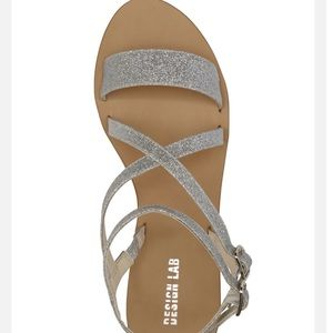 1c7a9a4efaf Lord   Taylor Shoes - 🌟NEW Silver Glittery Chunky Sandals🌟