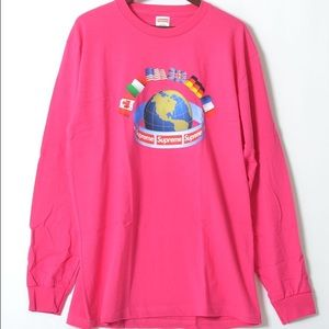 Supreme International Flags tee