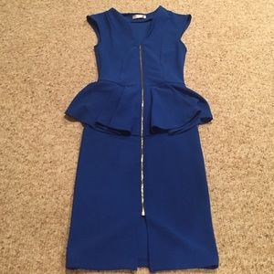 a'gaci Dresses & Skirts - A'GACI Blue Dress.