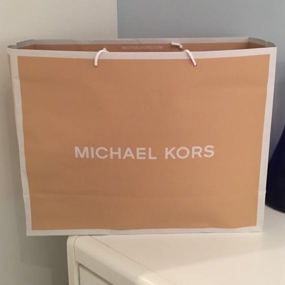 Michael Kors - Large MK Shopping Bag -BOGO! from !stephanie's ...