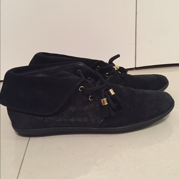 48 louis vuitton shoes black louis vuitton suede