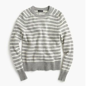 J.crew holly sweater in stripe