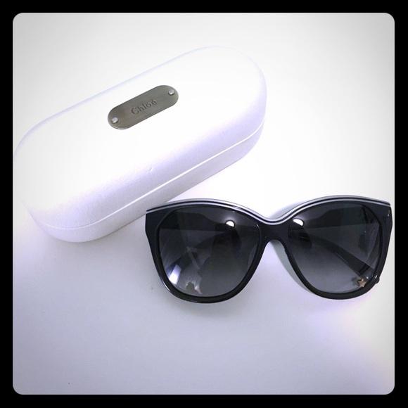 f5d57252fc6 Chloe Accessories - Chloe oversized cat eye sunglasses