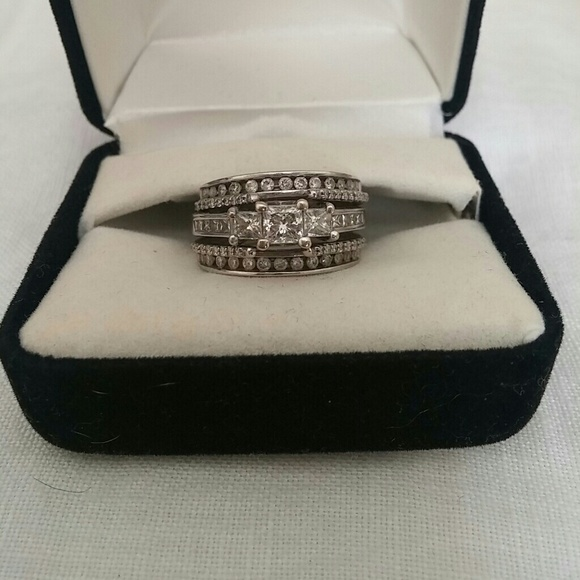 43 Off Kay Jewelers Jewelry 14k Wg Diamond Engagement