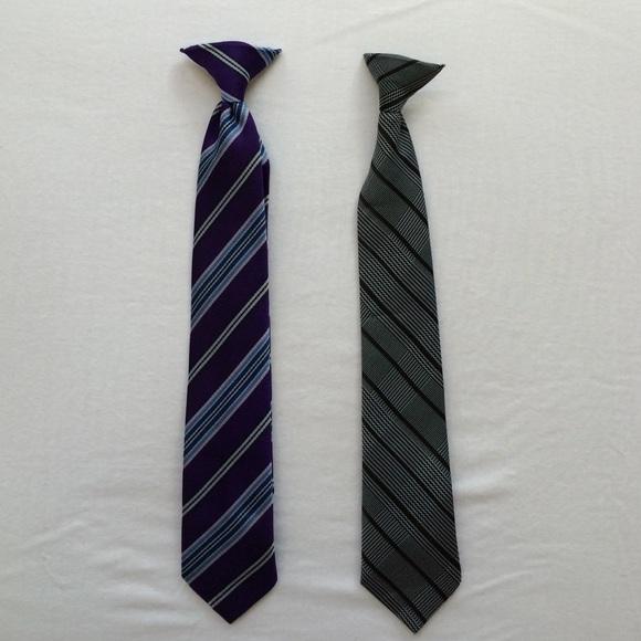 72d78fc42986 Kohls Accessories | Boys Clip On Ties | Poshmark