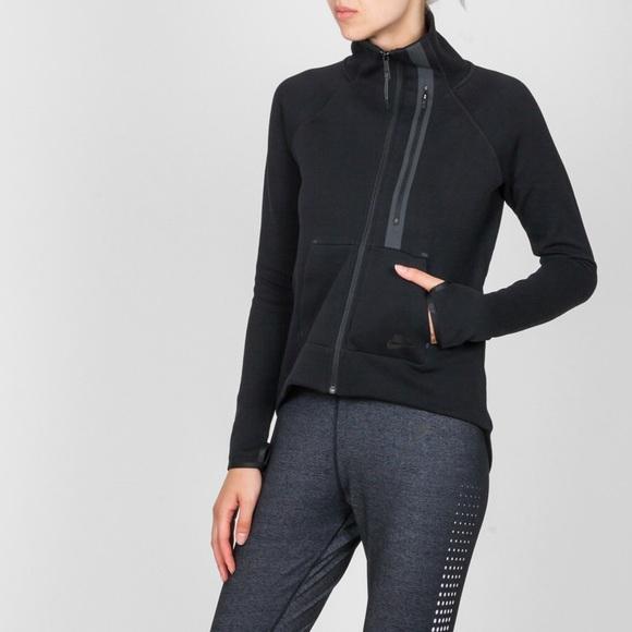 7e15a3560991 Nike Tech Fleece Moto Cape Jacket