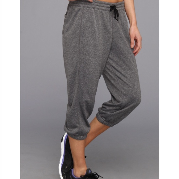 50% off Adidas Pants - Adidas women's gray Capri sweat pants from ...